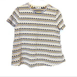 Zara Trafaluc Tribal Tee Medium